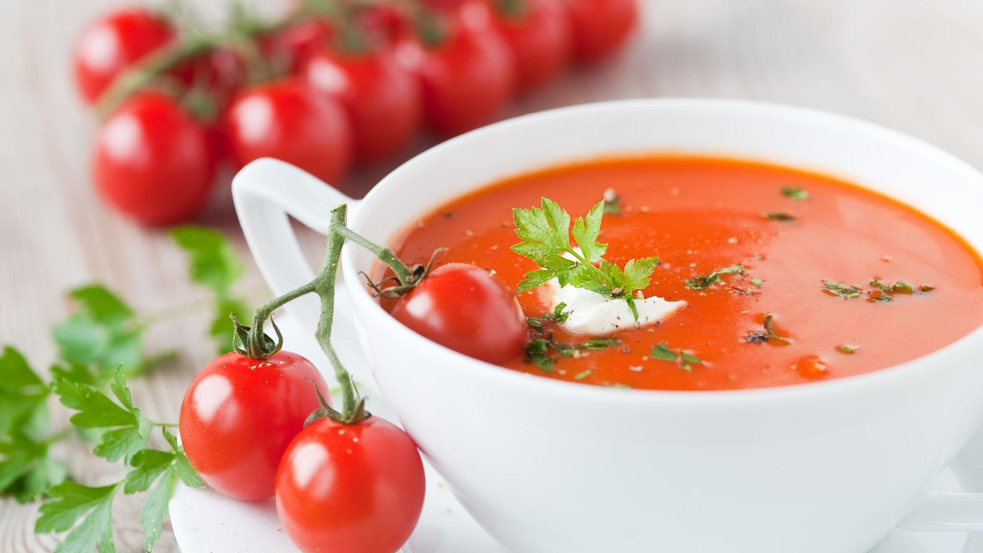 томатный суп для похудения с сельдереем